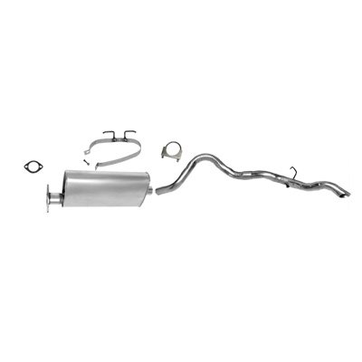 amazon com: 96 97 98 99 chevy s10 blazer 4 door exhaust system muffler tail  pipe cat back: automotive