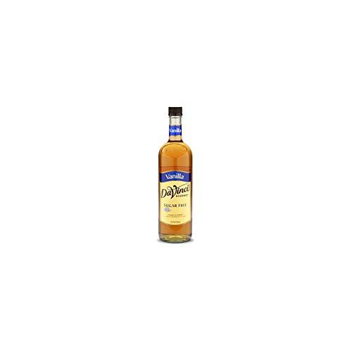 Da Vinci Sugar Free Original Vanilla Syrup, Plastic Bottle 25.4 Fl. Oz (Pack of 4)