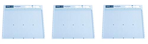 Scor-Pal SP108 Eighths Measuring and Scoring Board, 12'' by 12'', 1/8'' Space Grooves (3-(Pack)) by Scor-Pal (Image #1)