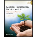 Medical Transcription Fundamentals- Where Success Takes Root (2nd, 13) by [Paperback (2012)]