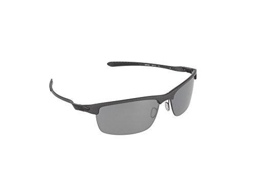 Oakley Men's Carbon Blade Rectangular Eyeglasses,Carbon Fiber,Black Iridium Polarized, 66 - Carbon Fiber Goggles Oakley