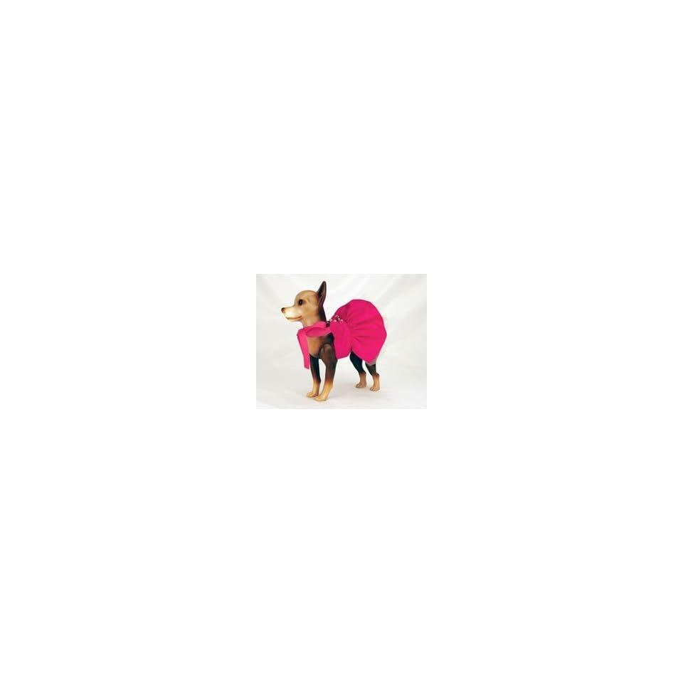 Pets Need Love Hot Pink Bridesmaid Dog Dress (XXSmall)