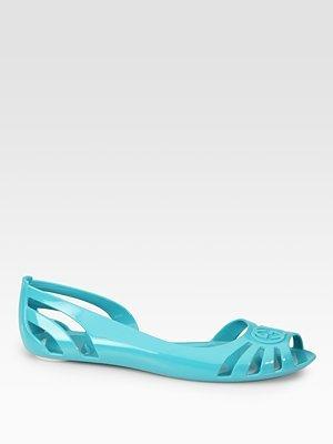 73e2fa98e67b8 Amazon.com  Women s Gucci Marola Jelly Logo Sandals - Jade  Shoes