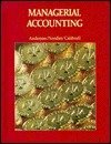 Managerial Accounting, Anderson, Henry R., 0395324580