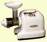 Samson 6-1 Single Auger Wheatgrass & Multi Purpose Juicer - Model GB9001 - IVORY