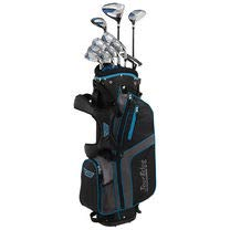 Tour Edge Unisex B3SRGU11.B Bazooka 360 Teen Golf Set Right Hand, Black/Blue (Tour Edge Golf Club Set)