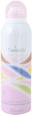 Rasasi Twinkel Pour Femme Deodorant Spray - For Women(200 ml)