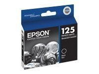Epson 125 - Print cartridge - 1 x black - for Stylus NX420, NX530, WorkForce 520 (T125120) - (Epson Wf 520 Black)
