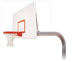 最初チームBrute Excelスチールで地面固定高さバスケットボールsystem44 ;ゴールド B01HC0DG38
