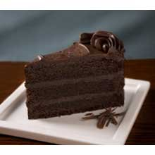 - Elis Triple Chocolate Cake, 98 Ounce -- 2 per case.