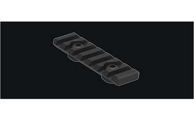 Knights Armament Company KAC Urx 3/3.1 Rail Section 8 Rib Black Stock Accessories