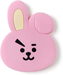 Bunny Mirror - BT21 cooky Silicon Hand Mirror One Size Pink
