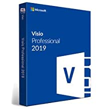Microsoft Visio Professional 2019 for Window 10 1User (Digital license) lifetime-Activation Code + Download link sent to you by amazon email only.NO CD/DVD/USB HAS BEEN SHIPPED TO YOU