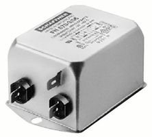 (SCHAFFNER - FN670-3-06 - RFI POWER LINE FILTER, 3A, 190UA by Schaffner)