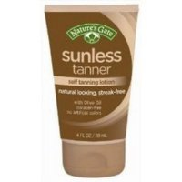 Nature's Gate - Sunless Tanner Self Tanning Lotion - 4 oz. (Bronze Instant)