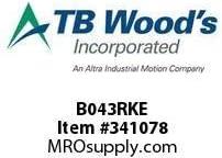 TBWOODS B043RKE REPAIR KIT 6 BOLT SINGLE CL E