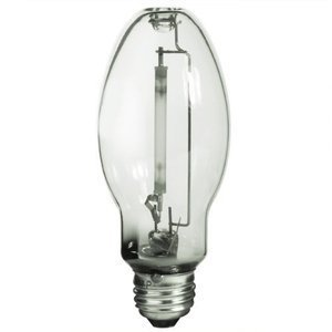 LU50/MED 50-Watt ED17 High Pressure Sodium Bulb, Medium Base, Clear