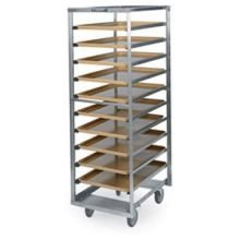 Lakeside Stainless Steel Roll-In Cooler and Proofer Rack, 12 Full Pan Capacity - 1 each.