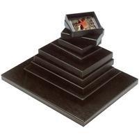Print File FB1114, 11x14'' Film and Print Archival Storage Box, Dimensions: 11-3/8'' x 14-3/8'' x 1-1/8'' Deep, Black