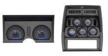 Blue Di... 1978-82 Chevy Corvette VHX System Carbon Fiber Style Face