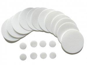 Polycarbonate (PCTE) Membrane Filter, Black, 0.2um, 25mm Diameter, 100/pk - PCTB0225100 by Sterlitech