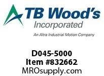 TBWOODS D045-5000 BACKPLATE by TB Woods (Image #1)