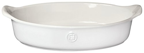 Emile Henry 239028 HR Ceramic Small Oval Baker, (Small Oval Baking Dish)