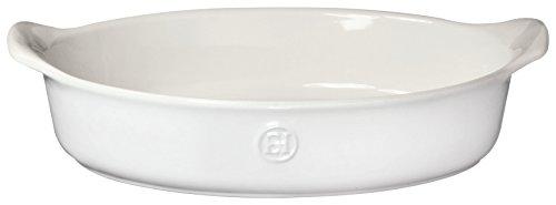 (Emile Henry 239028 HR Ceramic Small oval baker, Sugar)