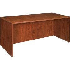 Lorell Desk Shell, 66 by 30 by 29-1/2-Inch, Cherry by Lorell