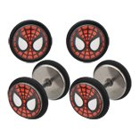 Body Accentz trade; Earrings Rings Fake Spiderman Cheater Plug 16 gauge - Sold as a ()