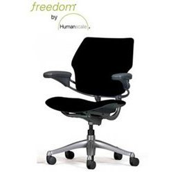 Amazoncom Humanscale Freedom Chair Armrests Gel Seat Polished