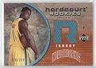 Brandon Bass #219/250 (Basketball Card) 2005-06 Upper Deck Hardcourt - Hardcourt Rookies Jerseys #97-J