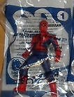 Mcdonalds Toy Figure - 2014 McDonalds The Amazing Spider-Man Toy # 1 Spider Man Light Up Figure Mint in Bag