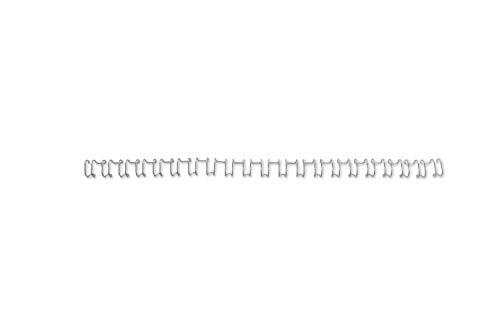 Gbc Binding Wire Elements - GBC Binding Wire Elements 21 Loop 85 Sheets 10mm Ref IB160837 [Pack 100] - Silver