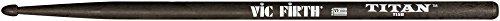 Vic Firth Titan Carbon Fiber Drumsticks 5B American Classic (Carbon Drum)