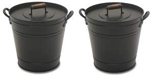Pilgrim Home and Hearth 19504 Air Insulated Ash Bucket -