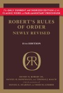 Robert's Rules of Order Newly Revised (11th, 11) by Robert, Henry M III - Honemann, Daniel H - Balch, Thomas J [Paperback (2011)]