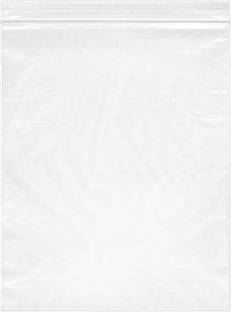 "Plymor 8"" x 10"", 4 Mil Heavy Duty Plastic Reclosable Zipper Bags"