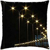 Street-Lights_Sea-View_Karachi - Throw Pillow Cover Case (18