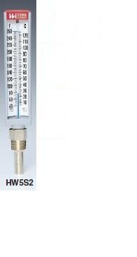 Weiss Instruments HW5S2 Hot Water Thermometer, Straight, ...