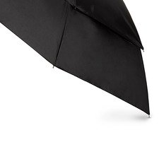 Golf Totes Umbrella - Totes Blue Line  Golf-Size Vented Canopy Compact Umbrella, Black, One Size