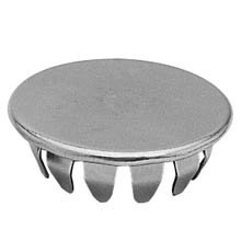Standard Hole Plug - Fits 3/4'' Hole, Steel Zinc Plated, 250 pcs (D2690S)