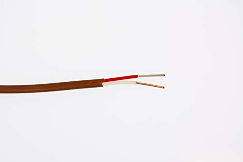 - J24-2-507 J Type,24 AWG, Solid, Fluoropolymer FEP Insulation Thermocouple Wire -SLE (Special Limits of Error)/ 100 ft Roll