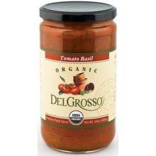 Organic Tomato Basil Pasta Sauce - DelGrosso Organic Tomato Basil Pasta Sauce, 24 Ounce - 12 per case.