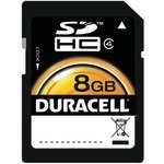 DEMDUSD8192R - DURACELL DU-SD-8192-R 8GB Class 4 SD (TM) Card