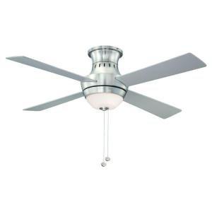 Hampton Bay Wentworth 52 in. Brushed Nickel Ceiling Fan