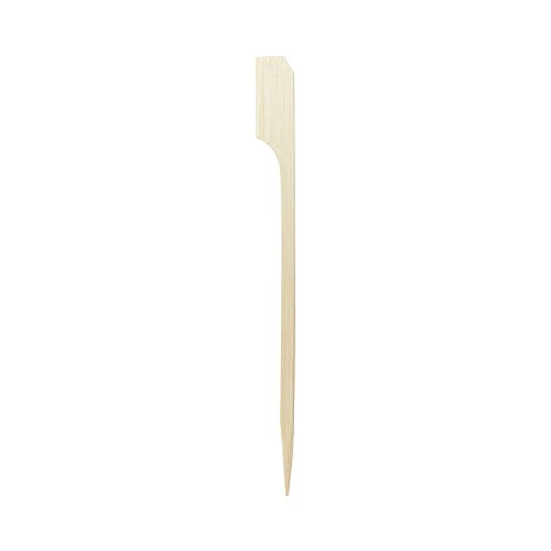 4-inch Bamboo Paddle Skewers: Perfect for Serving Appetizers and Cocktail Garnishes – Natural Color – 1000-CT – Biodegradable and Eco-Friendly – Restaurantware by Restaurantware (Image #5)