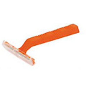 Disposable Razor, Single-Edge, Orange Handle-CS Case Pack 2000 by DDI
