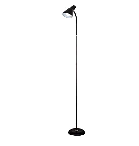 - CWJ Lighting - Long Rod Reading Floor Lamp Floor Lamp Northern Europe Iron Modern Minimalist Living Room Study Remote Control Floor Lamp Without Light Source Creative Bedroom Vertical Lamp,#1-L