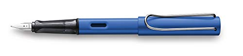 (LAMY Ocean Blue Fountain Pen with Medium Nib and Blue Ink (L28M))